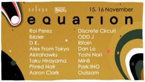 15th – 16th November | Equation Night