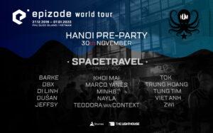EPIZODE FESTIVAL x HUM Pre-Party LINE-UP Announcement