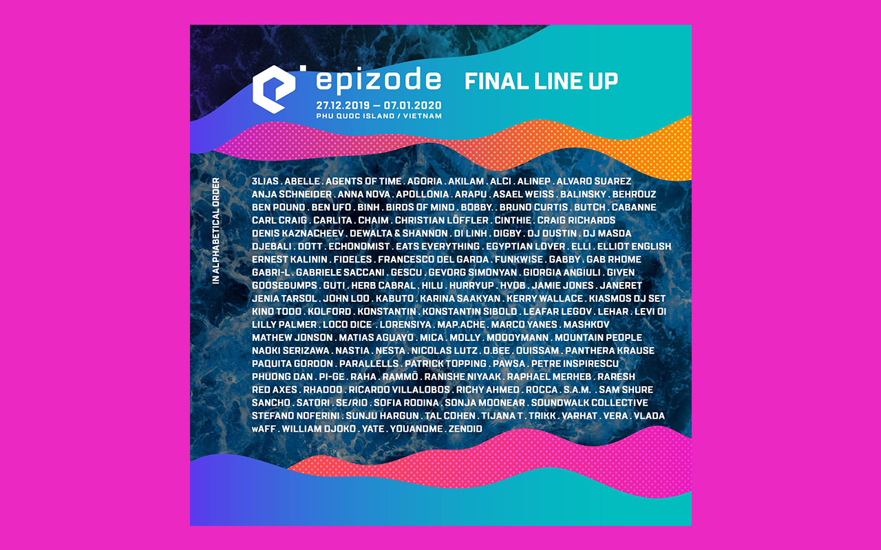 EPIZODE FESTIVAL FULL LINE-UP ANNOUNCEMENT