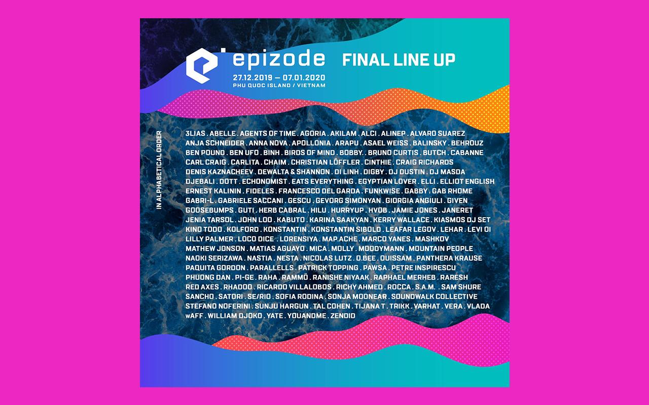 EPIZODE FESTIVAL FULL LINE-UP ANNOUNCEMENT