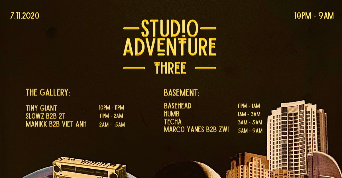 7th November | Marco Yanes for Studio Adventure: 3 Years